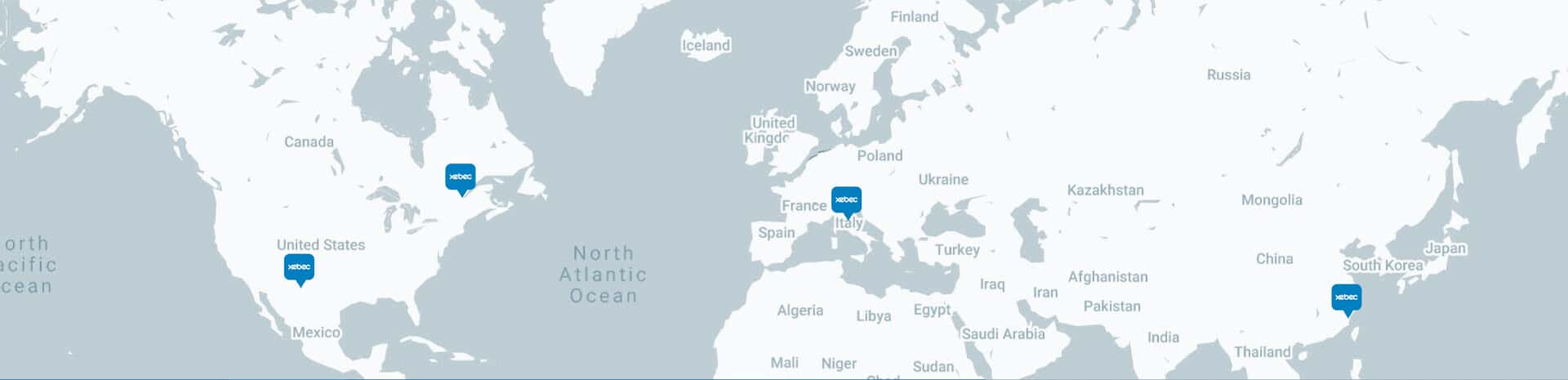 Map Xebec